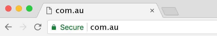 website beveiligd